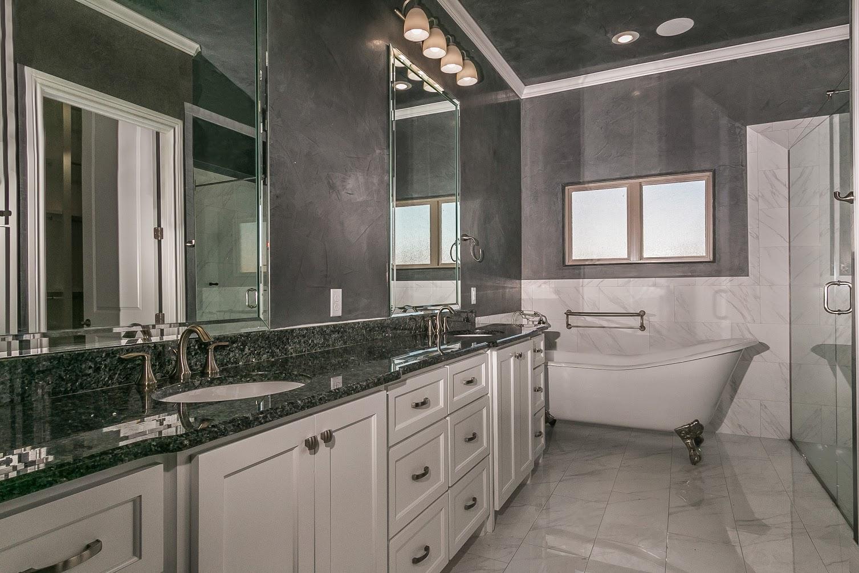 Culp Builders new home baths photo gallery