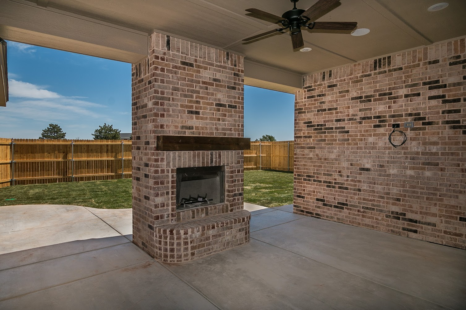 Culp Builders new home outdoors amenities photo gallery
