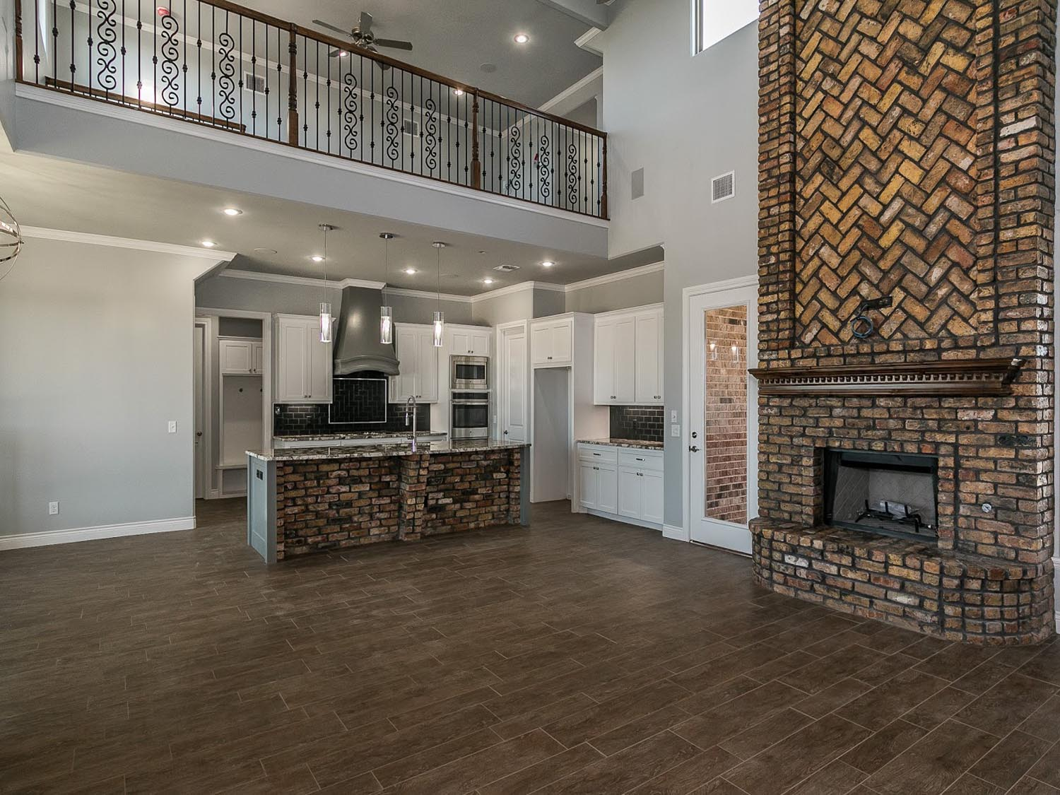 Culp Builders new home living areas photo gallery